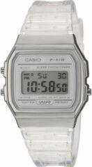 Casio - F-91WS-7EF - Uniseks digitaal horloge in doorzichtig-Doorschijnend
