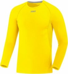Jako Compression 2.0 Longsleeve - Thermoshirt - geel - M