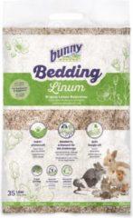 """Bunny nature"" ""Bunny nature bunnybedding linum vlasvezel 35 liter"""