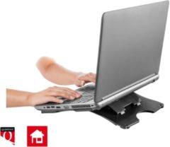 Zwarte Laptopstandaard Quantore antraciet