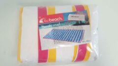 Merkloos / Sans marque Beach mat - Probeach - Geel/Rood/Wit