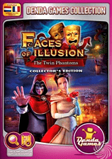 Denda Games Denda Game 165: Faces of Illusion: The Twin Phantoms (Collector's Edition) PC