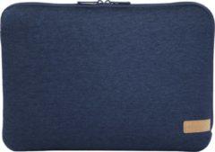 """Hama Jersey notebooktas 35,8 cm (14.1"""") Opbergmap/sleeve Blauw"""