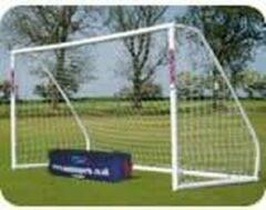 Witte Soccerconcepts UPVC voetbaldoel - voetbaldoel - 3m x 2m goal - kunststof