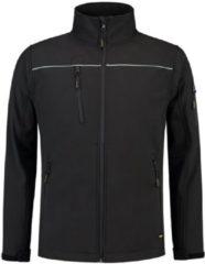 TRICORP WORKWEAR Tricorp soft shell jack - Workwear - 402006 - zwart - maat 3XL