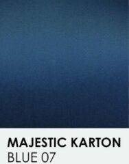 Blauwe Karton met glinster notrakkarton Majestic blue 07 A4 250 gr.