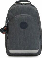 Grijze Kipling Class Room Rugzak marine navy backpack