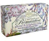 Nesti Dante Firenze Pflege Romantica Romantica Seife Wisteria & Lilac 250 g