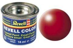 Rode Emaille kleur Revell Vuurrood (zijdeglans) 330 Doos 14 ml