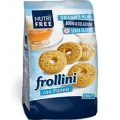 Nutrifree Frollini con Panna Senza Glutine 250 g
