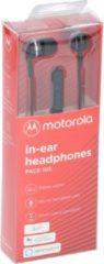 Motorola Pace 105 hoofdtelefoon - in-ear - microfoon - zwart
