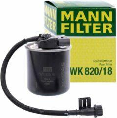 MANN FILTER Brandstoffilter WK820 / 18