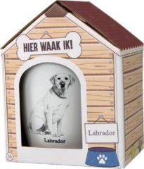Witte Paper dreams Mok – Labrador – Dier – Puppy – Hond – Dieren – Mokken en bekers – Keramiek – Mokken - Porselein - Honden – Cadeau - Kado