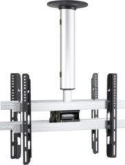 """VCM Universelle Duo TV-Deckenhalterung 42-65 Zoll (106-165 cm) Deckenhalter neigbar schwenkbar höhenverstellbar 50-84 cm """"CM4 Mini Double"""" für Zwei Do"""