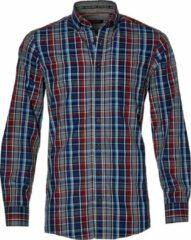 Casa Moda Overhemd - Regular Fit - Blauw - 3XL Grote Maten
