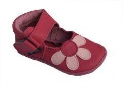 Baby Paws babyslofjes Amanda Fuchsia Roze maat 4 = ( 12,7 cm)