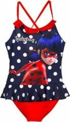 Miraculous Ladybug badpak - blauw - maat 104 / 4 jaar