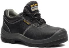 Safety Jogger bestrun leren werkschoenen S3 - Zwart - Maat 40