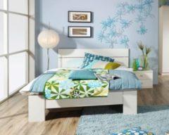 Rauch-PACKs Bett 140 x 200 cm mit Nachttisch alpinweiss RAUCH PACKS Chica