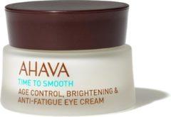 AHAVA Time to Smooth Age Control Birghtening & Anti-Fatigue Eye Cream Oogcrème 15 ml