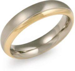 Zilveren Boccia Titanium 0130-08 Ring - Titanium - Bicolor