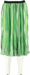 Aaiko gevoerde groene rok - Maat S