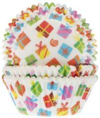 Witte House of Marie Cupcake vormpjes Cadeaus pk/50
