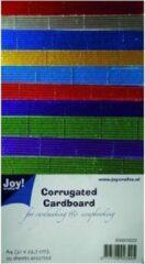 Joy! crafts - Ribbelkarton - Metallic: assorti - 8089/0222