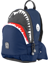 Pick & Pack Shark Shape Backpack S navy Kindertas