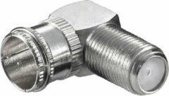 Grijze Goobay WE 1132 W kabel-connector Roestvrijstaal