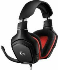 Zwarte Logitech G332 Lichtgewicht Gaming Headset met 50mm Audio Drivers