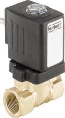 Bürkert 221598 Servogestuurd ventiel 24 V/DC G 3/8 mof Materiaal (behuizing) Messing Afdichtmateriaal NBR