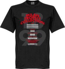 Retake AC Milan Trophy Collection T-Shirt - Zwart - S