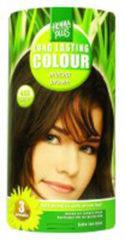 Bruine Hennaplus Long Lasting Colour 4.03 Mocha Brown - Haarverf