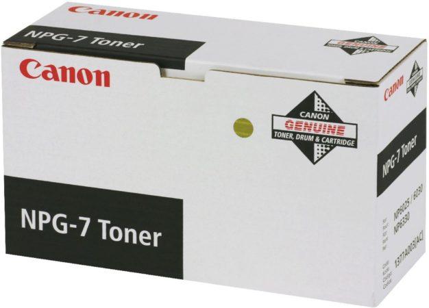 Afbeelding van CANON NPG-7 tonercartridge zwart standard capacity 10.000 paginas 1-pack