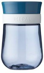 Donkerblauwe Mepal Mio – 360° Oefenbeker 300 ml – stimuleert het zelf drinken – Deep blue – kan tegen een stootje – drinkbeker kinderen – lekvrije beker