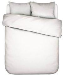 Witte Essenza Home dekbedovertrek Minte white - lits jumeaux (240x200/220 cm incl. 2 slopen)