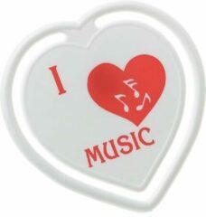AIM Paperclips 'I Love Music' hartvormig
