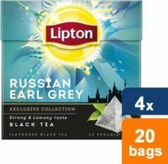 Lipton Lipton - Russian Earl Grey - 4x 20 zakjes