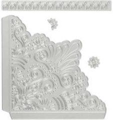 Stans- en embossing mallen afm 14x14 cm afm 14 5x1 5 cm decoratieve hoeken 1stuk