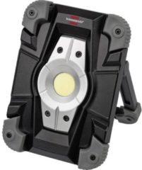 Zwarte Brennenstuhl 1173080 Mobiele Led Floodlight Werklamp 10W 1000 Lm