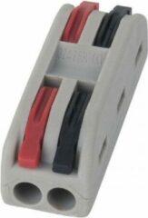 Rode Showgear LED Cable connector 2 aderig - 94000 (Verpakking 10 stuks)