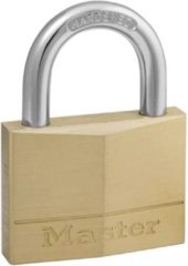 Gele Master lock hangslot 50 mm massief messing 150eurd