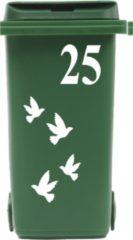 Rosami Decoratiestickers Klikosticker Vogels Met Huisnummer Rosami 1 Stuks Kleur: Zie Omschrijving