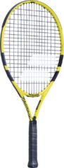 """Babolat Nadal 25"""" tennisracket junior geel/zwart"""