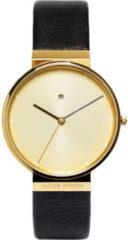 Jacob Jensen 845 horloge heren - zwart - edelstaal doubl�