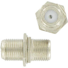 Kopp coax F-connectoren verbindingsstuk 2 stuks