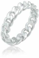 Elli Dames Ringen Bandring Oneindige Knopen Twisted in 925 Sterling Zilver