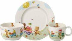 Groene Villeroy & Boch Hungry as a bear Kinderservies premium porselein 3-delig