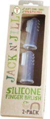 Witte Vingertandenborstel (2stuks) | Jack N' Jill